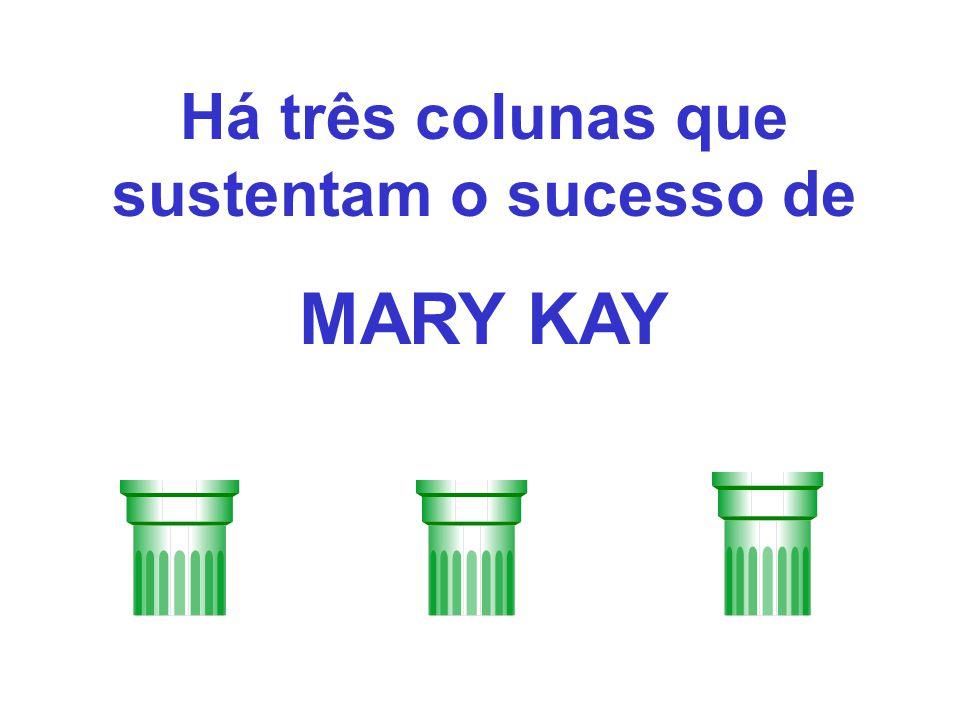 Há três colunas que sustentam o sucesso de