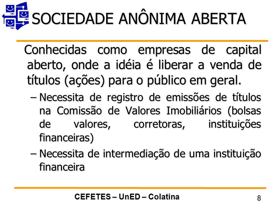 SOCIEDADE ANÔNIMA ABERTA