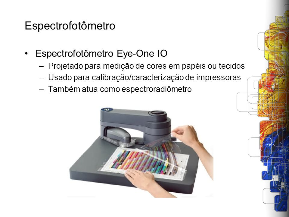 Espectrofotômetro Espectrofotômetro Eye-One IO