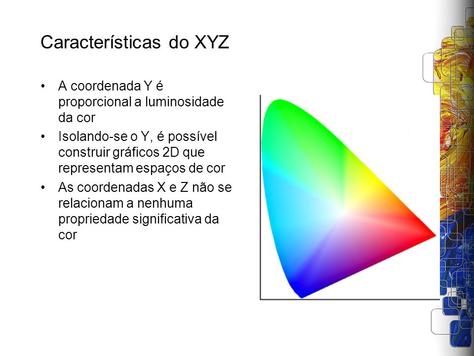 Características do XYZ