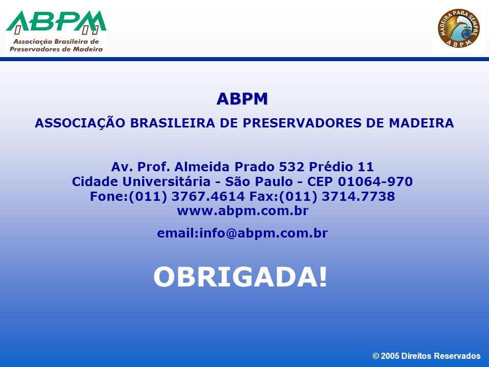 ASSOCIAÇÃO BRASILEIRA DE PRESERVADORES DE MADEIRA