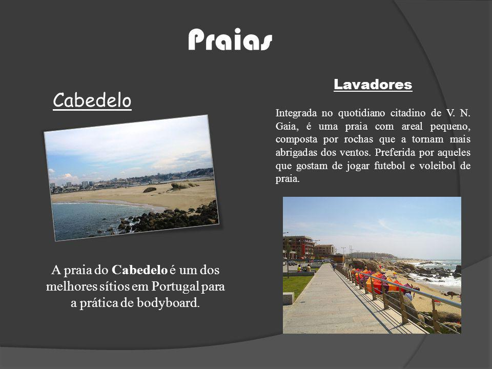 Praias Cabedelo Lavadores