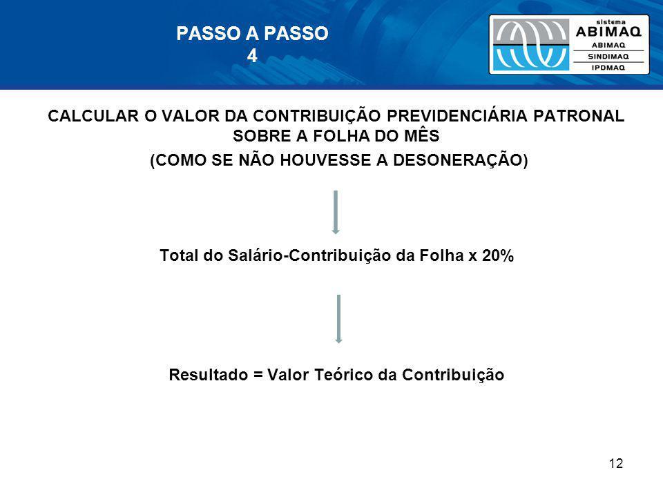 PASSO A PASSO 4