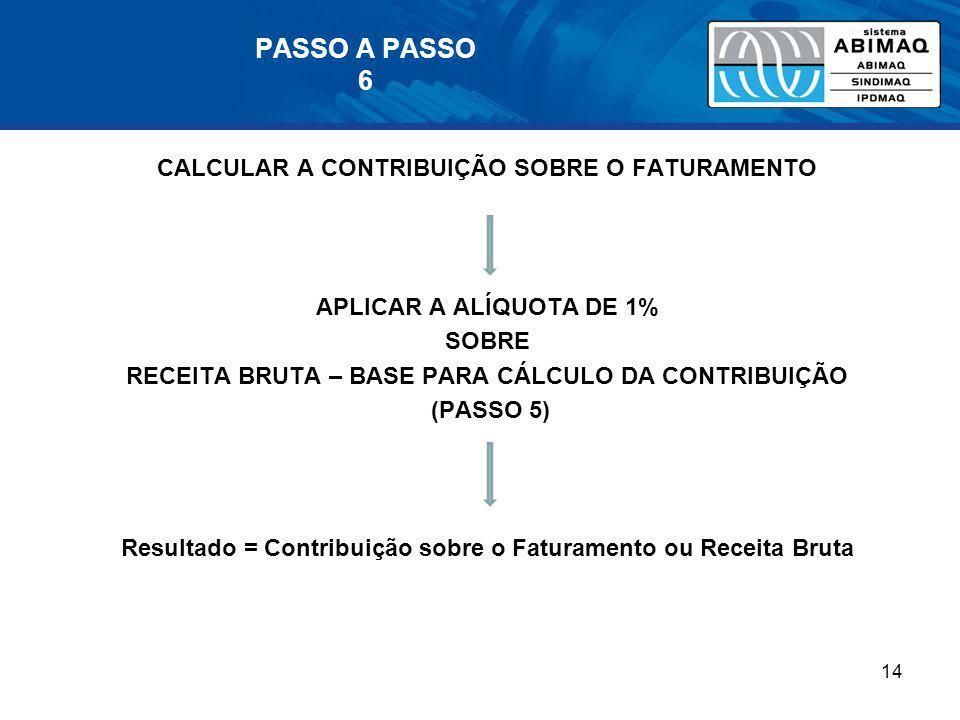 PASSO A PASSO 6