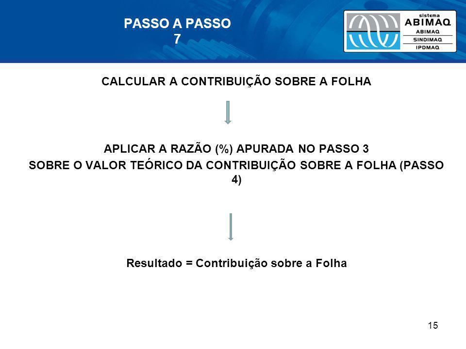 PASSO A PASSO 7