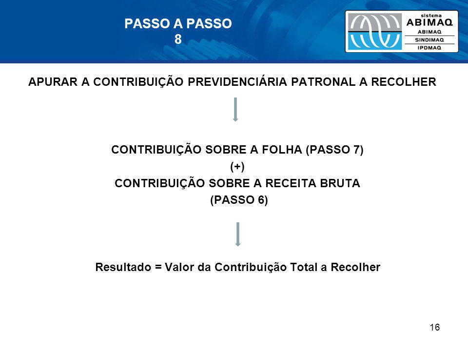 PASSO A PASSO 8