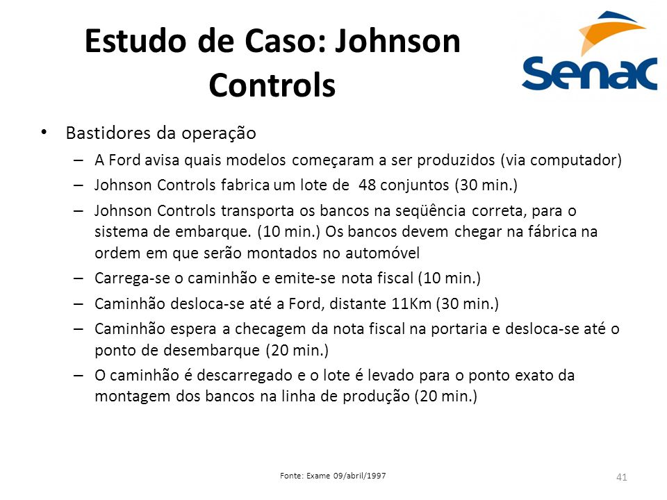 Estudo de Caso: Johnson Controls