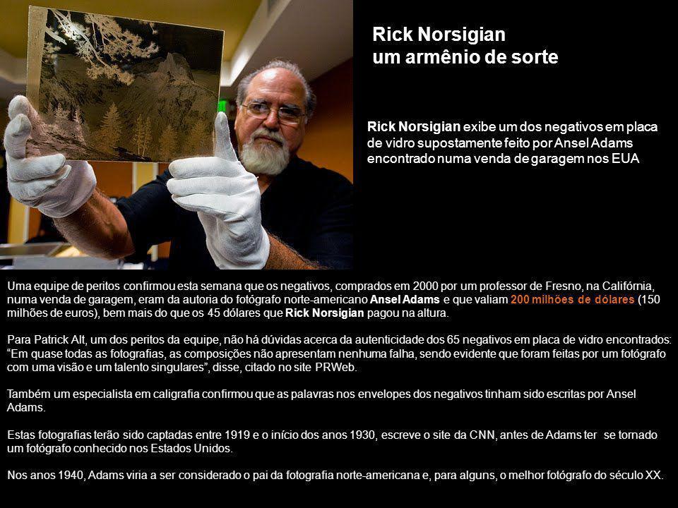 Rick Norsigian um armênio de sorte