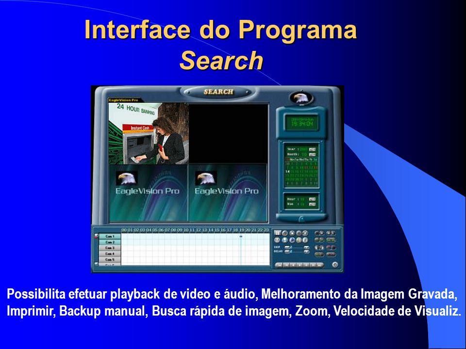 Interface do Programa Search
