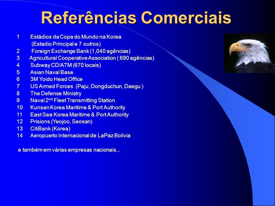 Referências Comerciais