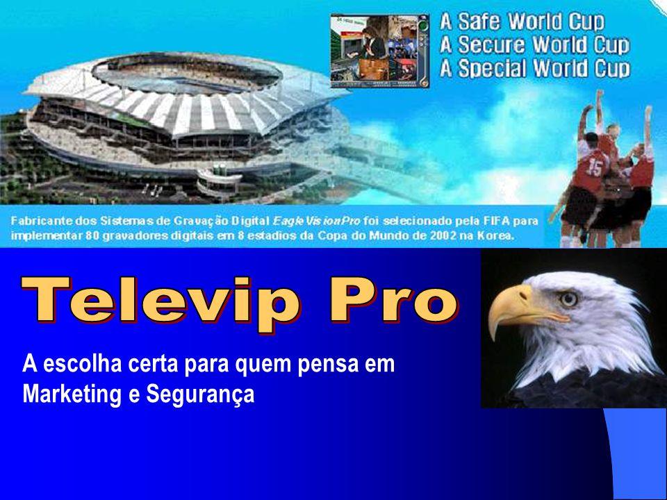 Televip Pro A escolha certa para quem pensa em Marketing e Segurança