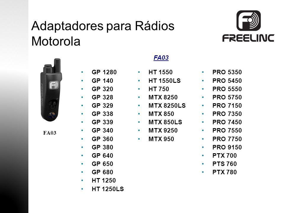 Adaptadores para Rádios Motorola