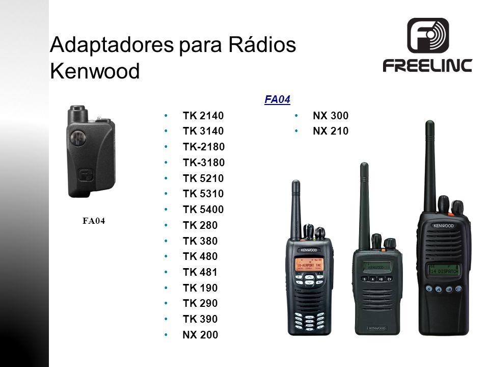 Adaptadores para Rádios Kenwood