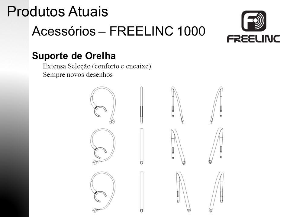 Produtos Atuais Acessórios – FREELINC 1000 Suporte de Orelha