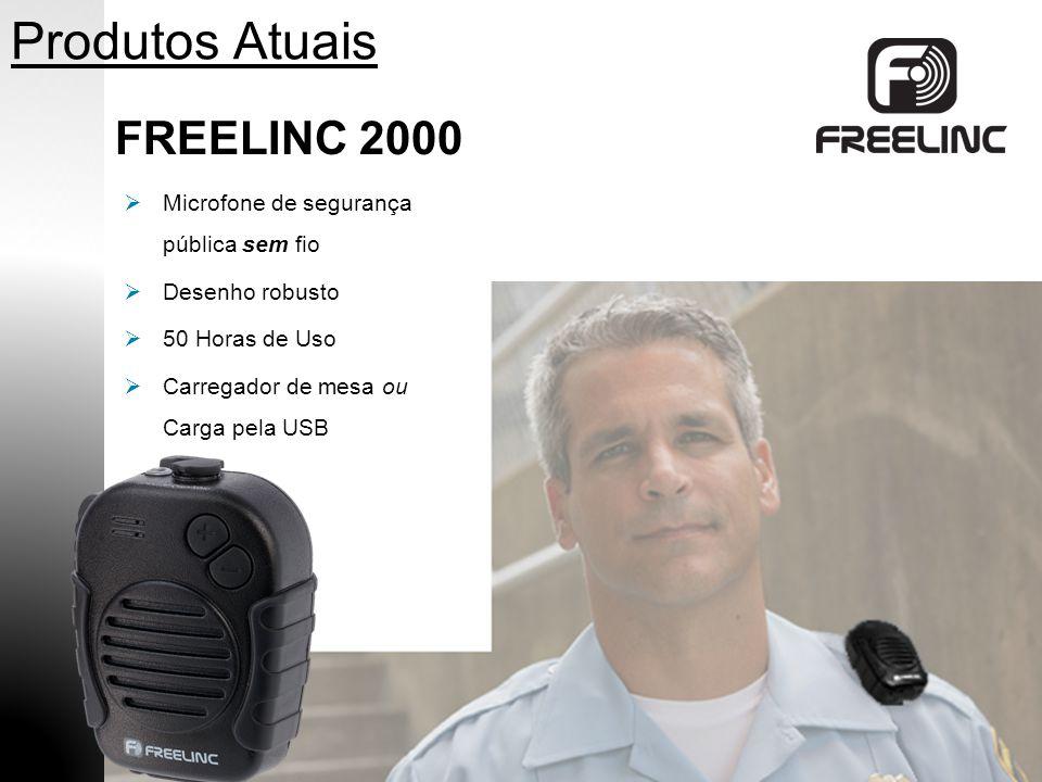 Produtos Atuais FREELINC 2000 Microfone de segurança pública sem fio