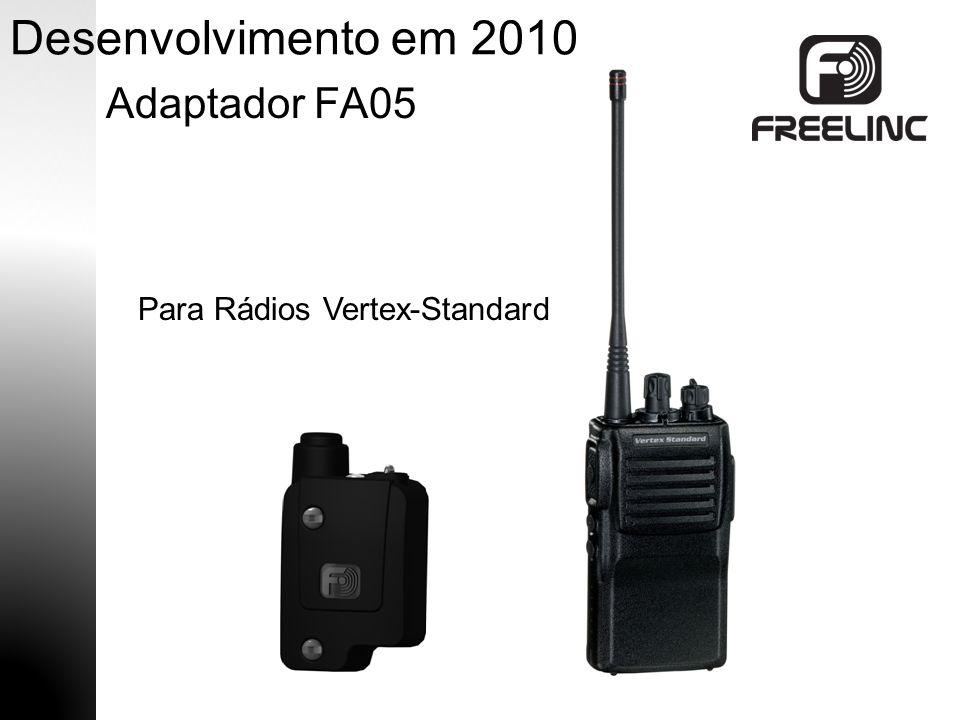 Desenvolvimento em 2010 Adaptador FA05 Para Rádios Vertex-Standard