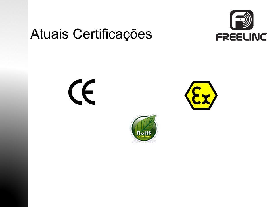 Atuais Certificações