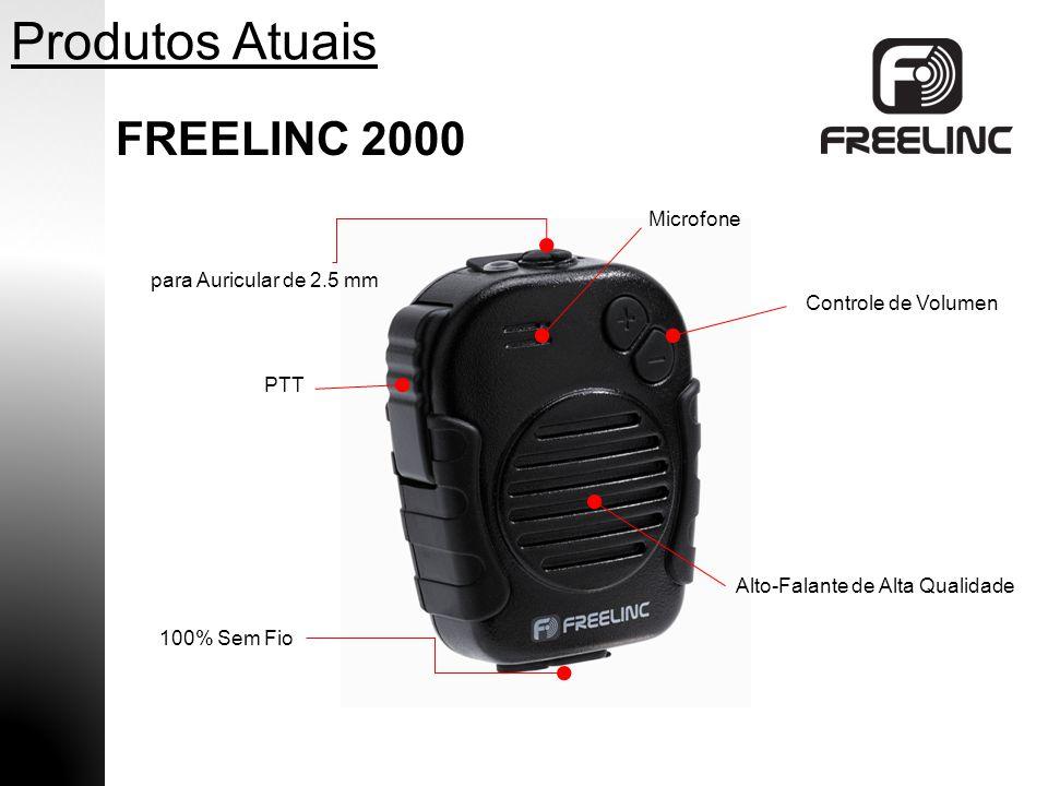 Produtos Atuais FREELINC 2000 Microfone para Auricular de 2.5 mm