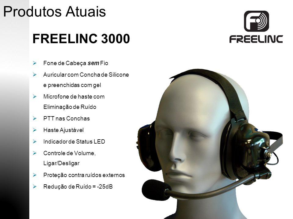 Produtos Atuais FREELINC 3000 Fone de Cabeça sem Fio