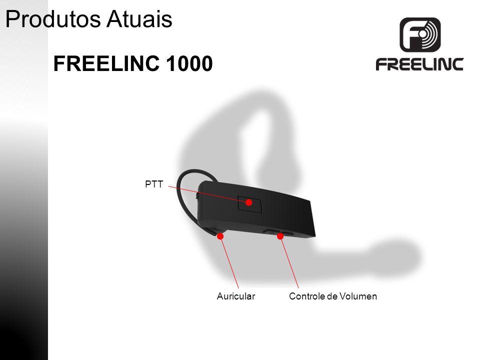 Produtos Atuais FREELINC 1000 PTT Auricular Controle de Volumen 8