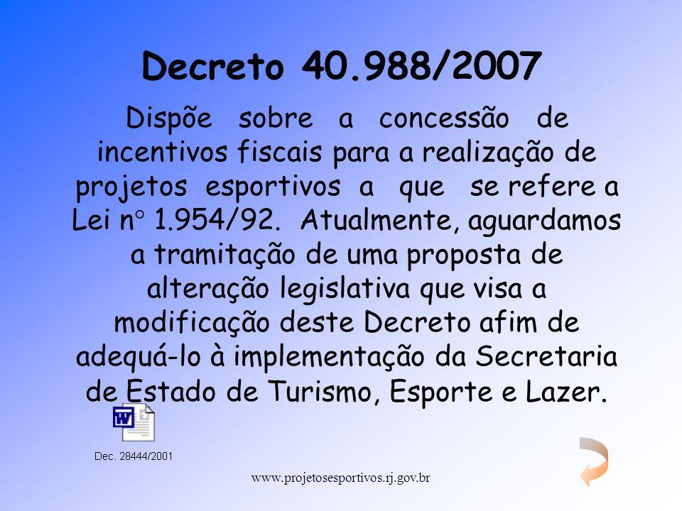 Decreto 40.988/2007