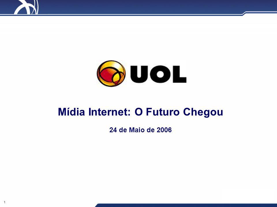 Mídia Internet: O Futuro Chegou