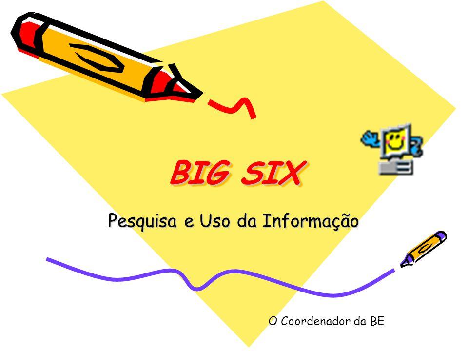 Pesquisa e Uso da Informação
