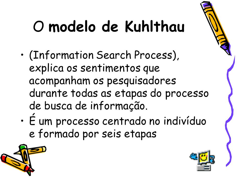 O modelo de Kuhlthau