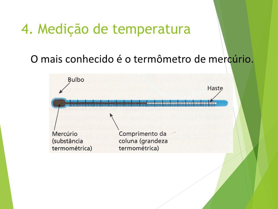 4. Medição de temperatura