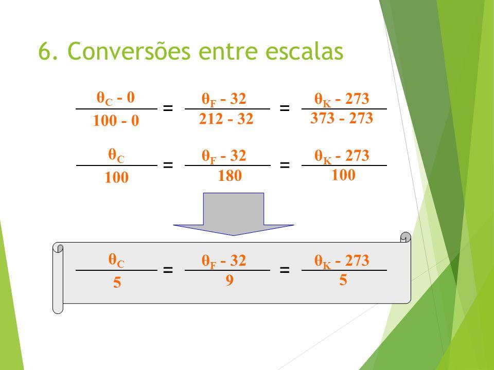 6. Conversões entre escalas