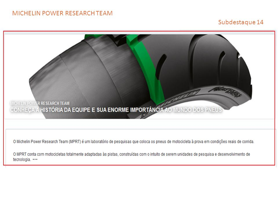 MICHELIN POWER RESEARCH TEAM