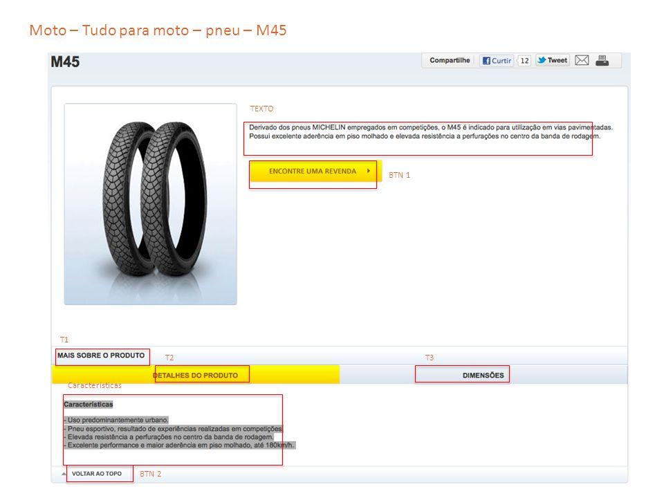 Moto – Tudo para moto – pneu – M45