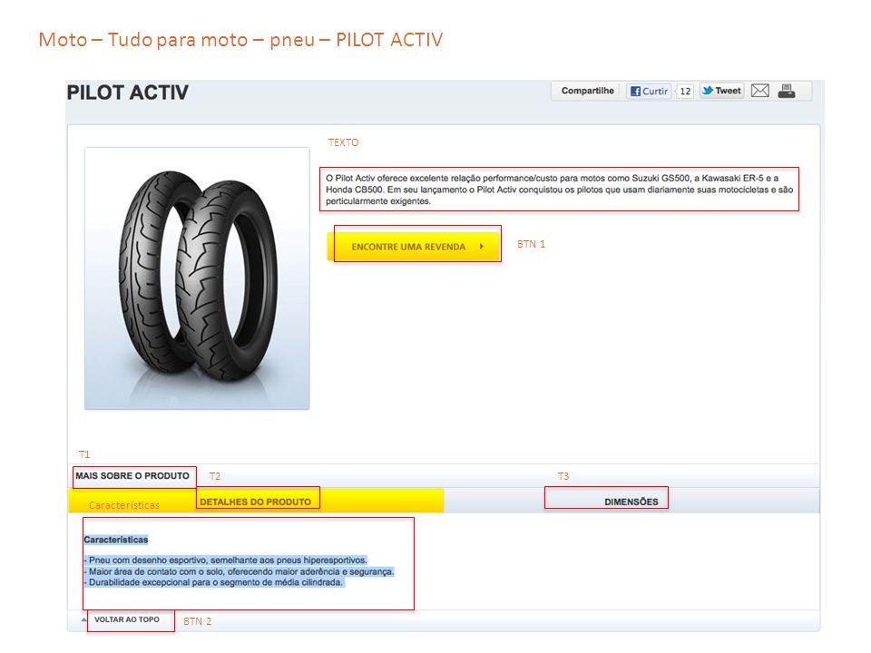 Moto – Tudo para moto – pneu – PILOT ACTIV