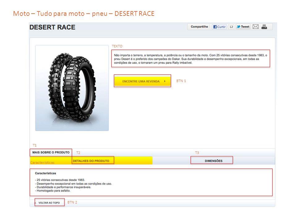 Moto – Tudo para moto – pneu – DESERT RACE
