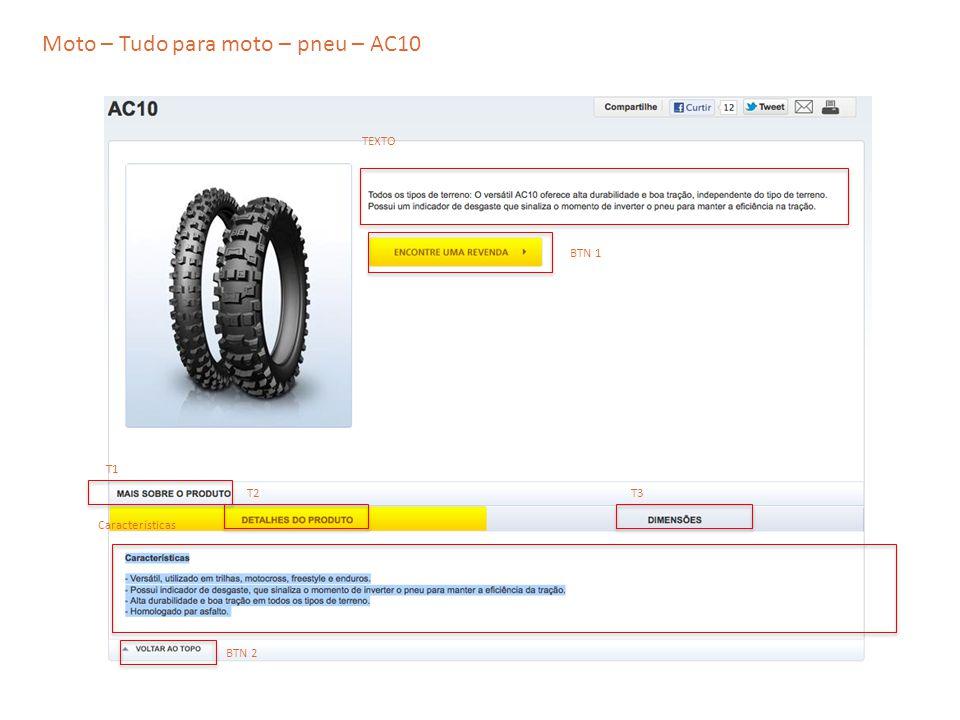 Moto – Tudo para moto – pneu – AC10