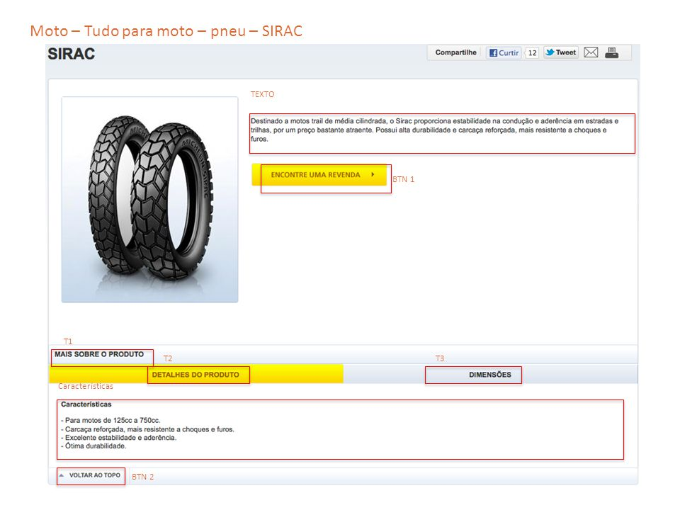 Moto – Tudo para moto – pneu – SIRAC