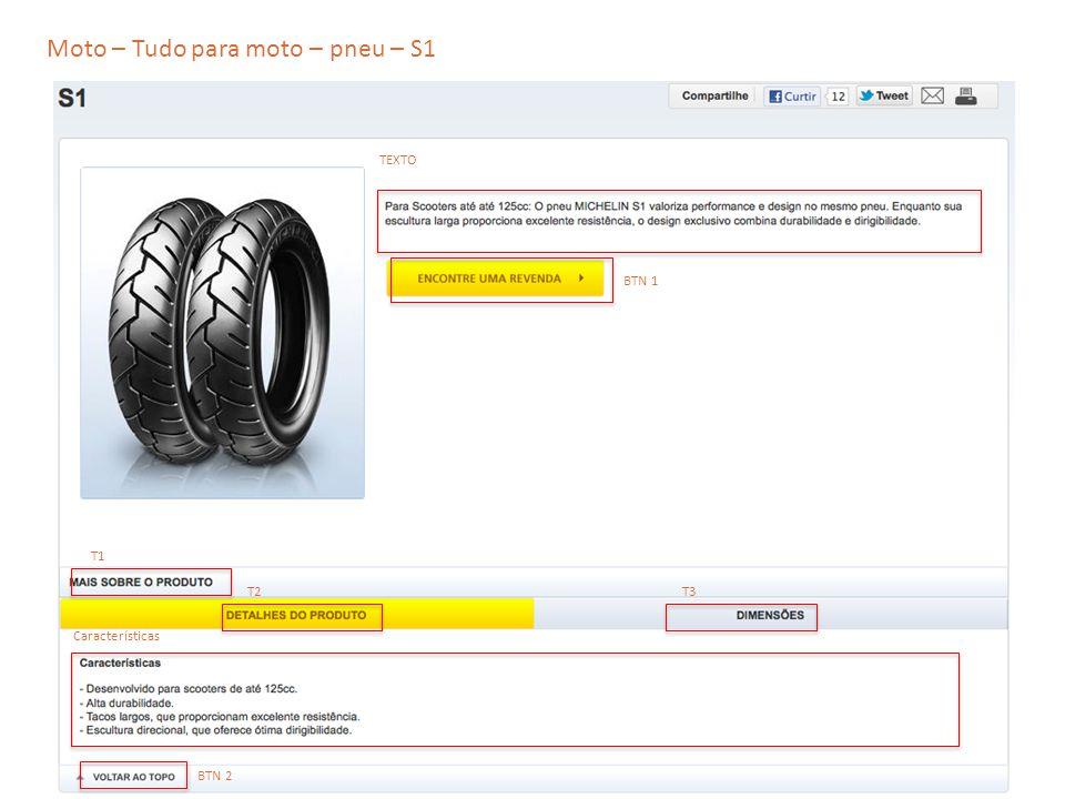 Moto – Tudo para moto – pneu – S1