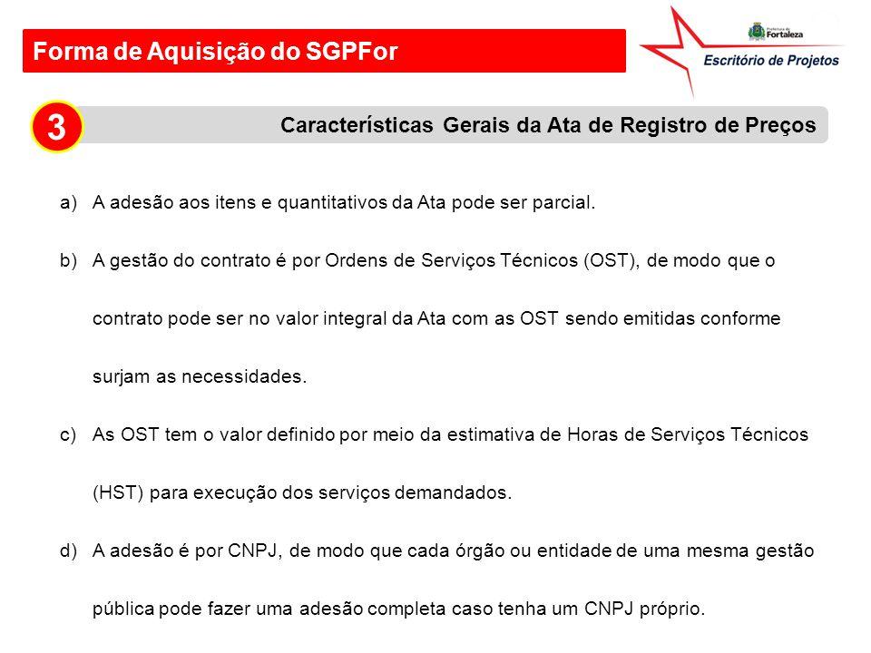 3 Forma de Aquisição do SGPFor
