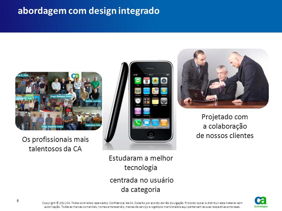abordagem com design integrado