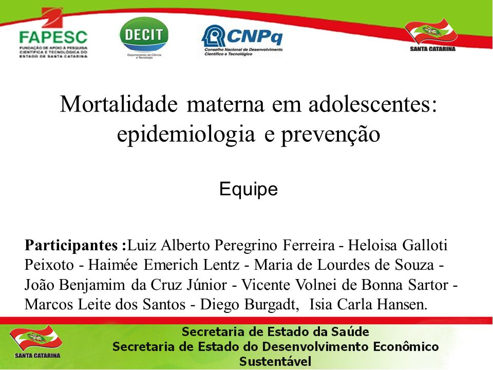 Mortalidade materna em adolescentes: epidemiologia e prevenção