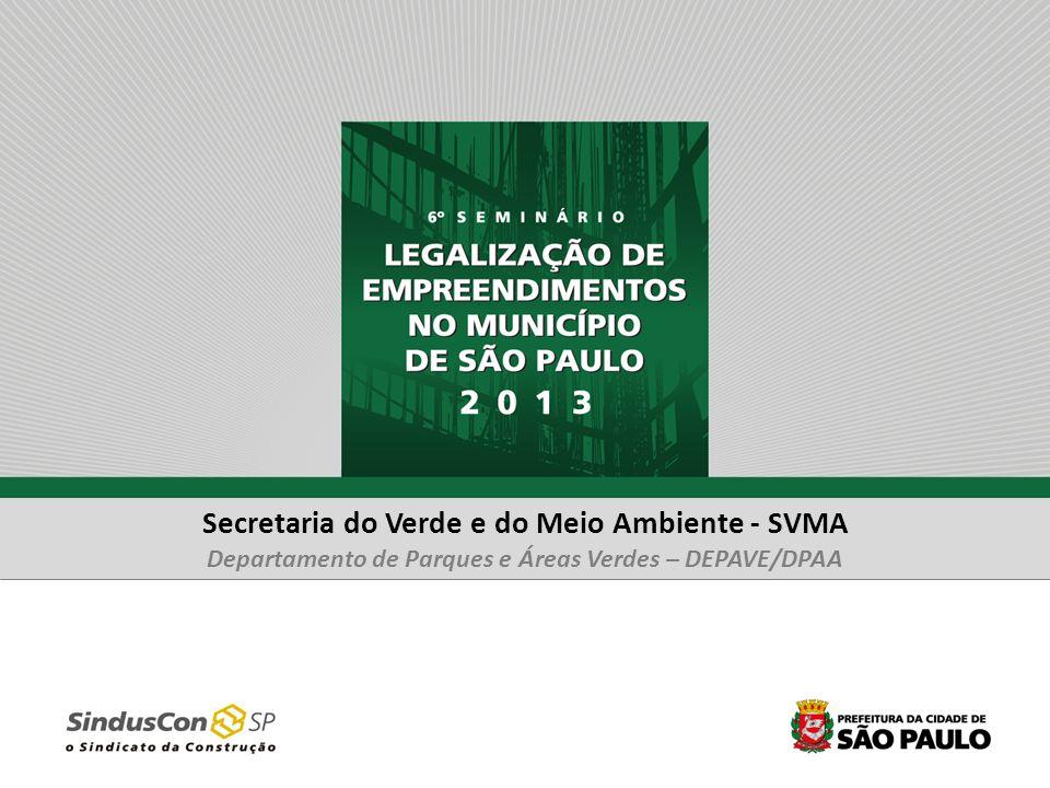 Secretaria do Verde e do Meio Ambiente - SVMA