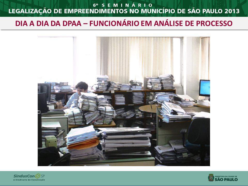 DIA A DIA DA DPAA – FUNCIONÁRIO EM ANÁLISE DE PROCESSO
