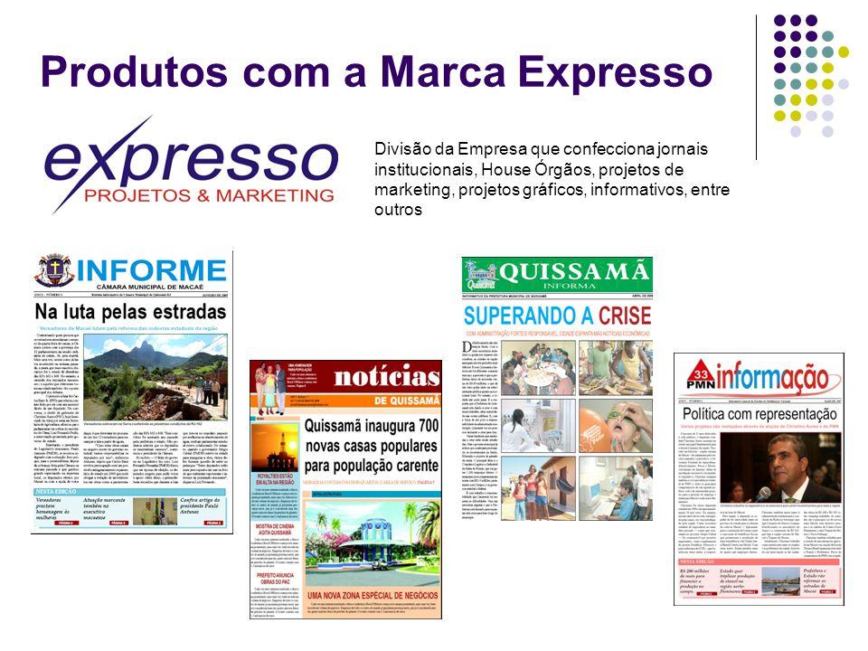 Produtos com a Marca Expresso