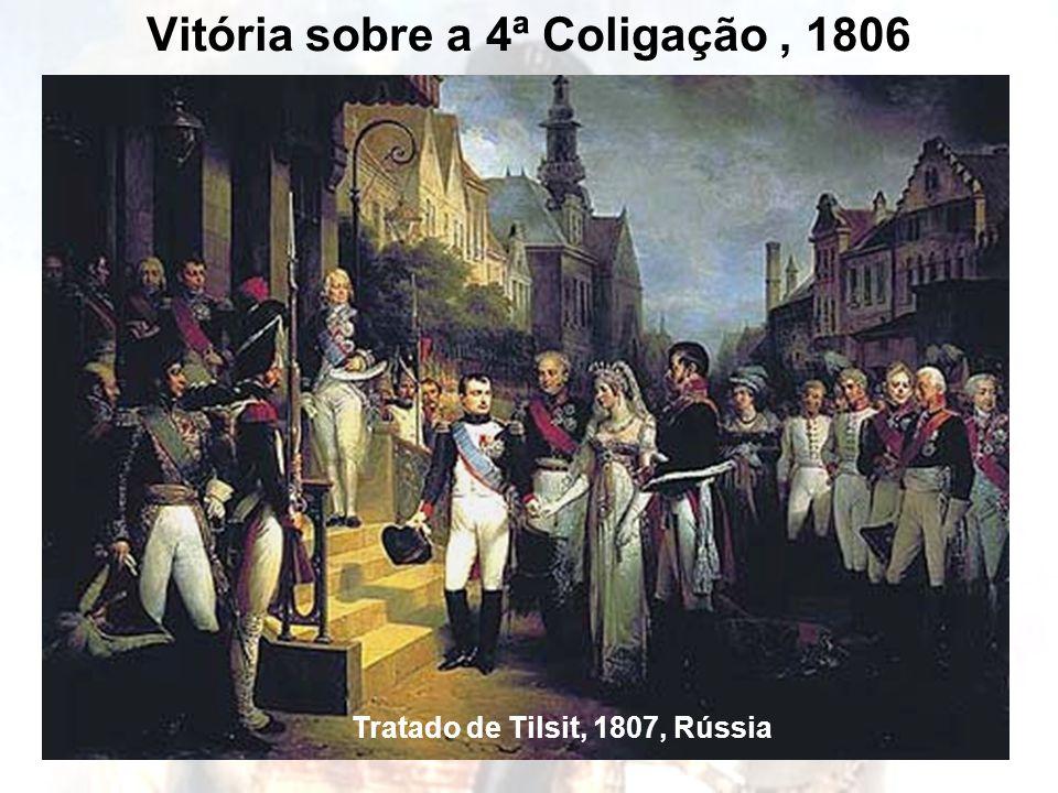 Vitória sobre a 4ª Coligação , 1806 Tratado de Tilsit, 1807, Rússia