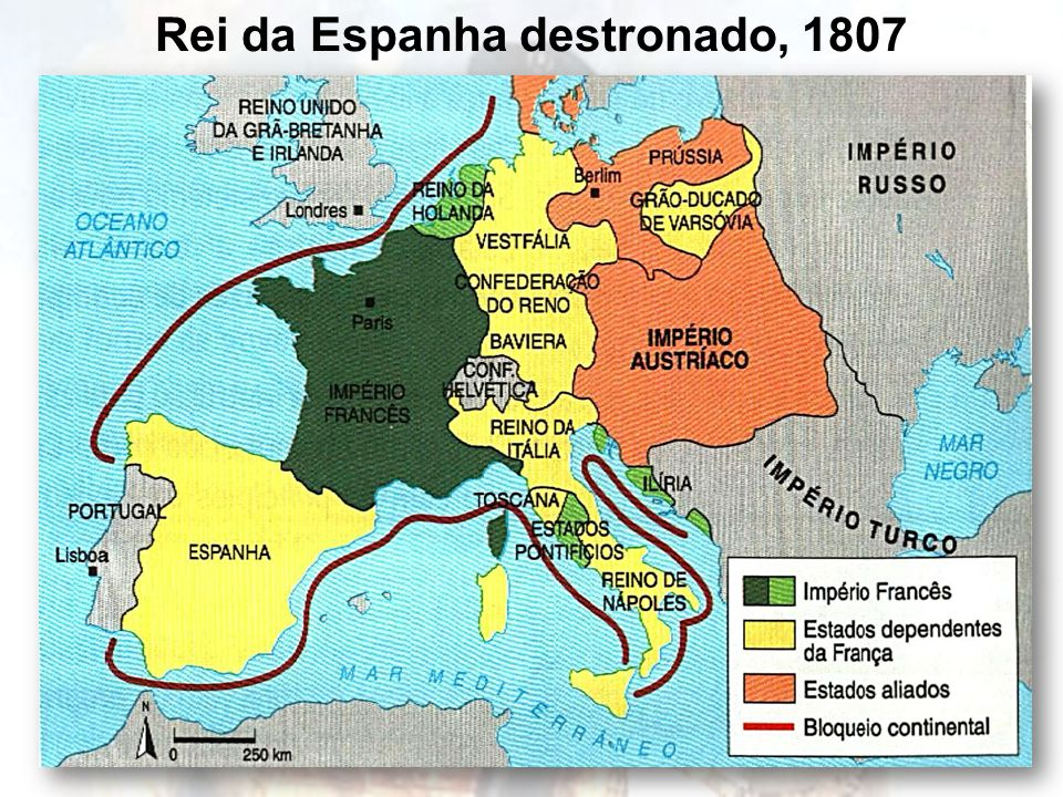 Rei da Espanha destronado, 1807