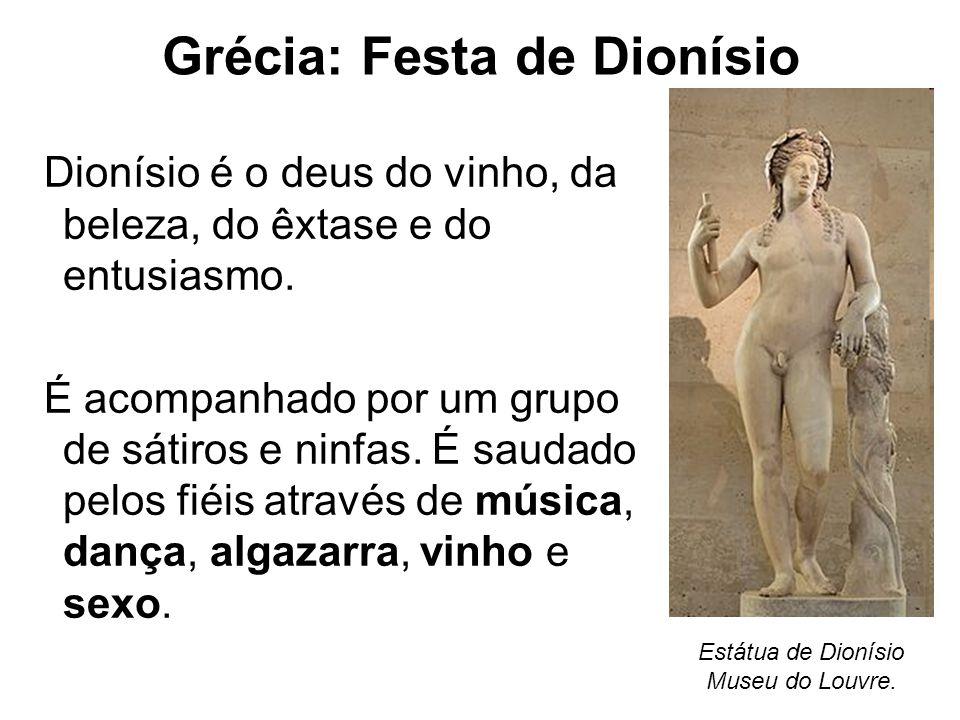 Grécia: Festa de Dionísio