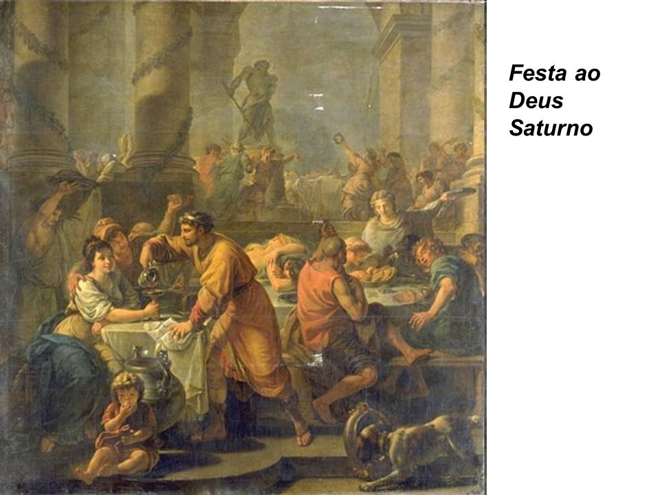 Festa ao Deus Saturno
