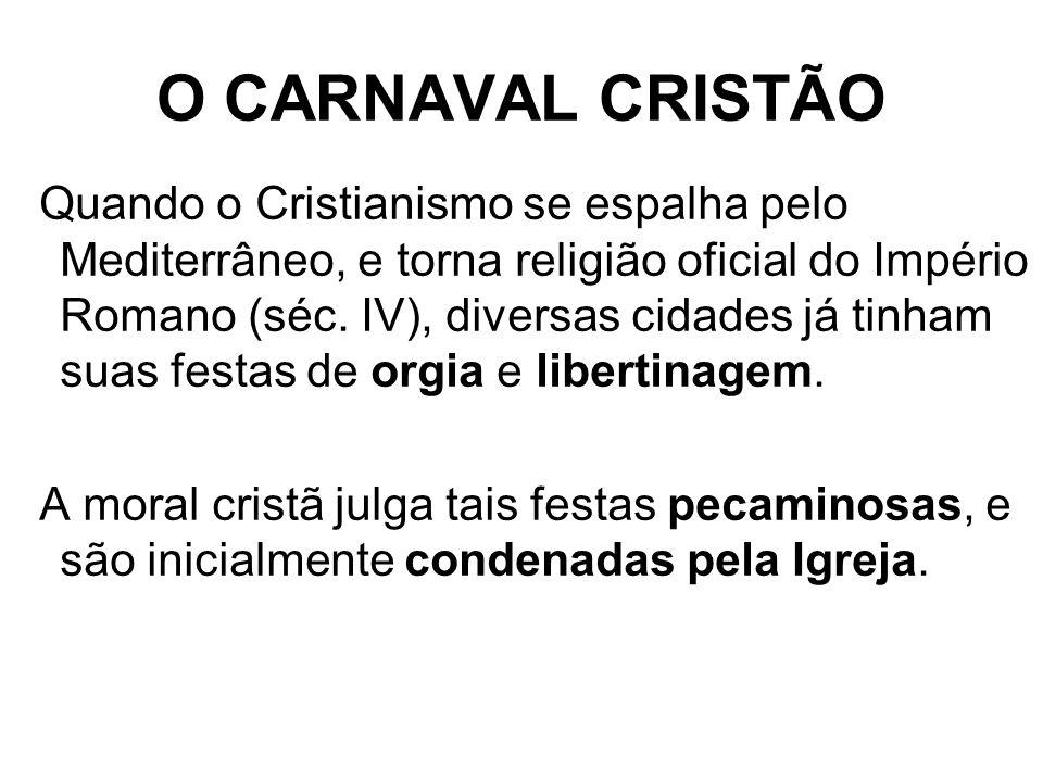 O CARNAVAL CRISTÃO