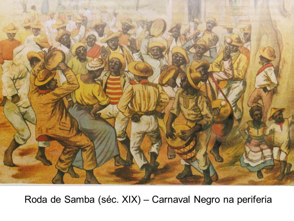 Roda de Samba (séc. XIX) – Carnaval Negro na periferia