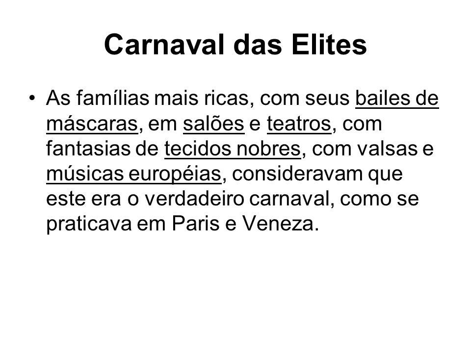 Carnaval das Elites